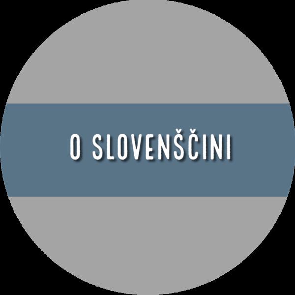 O slovenščini